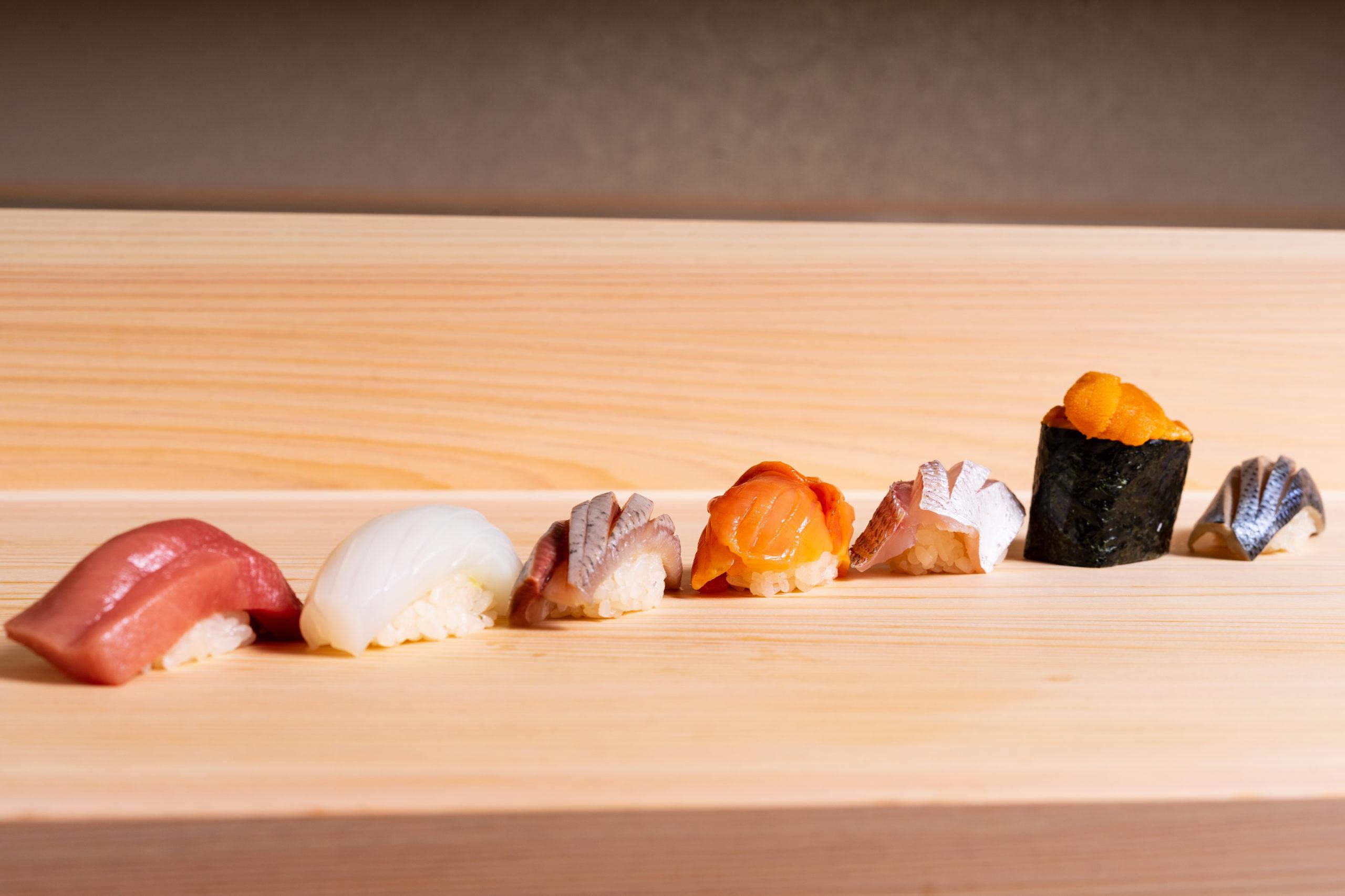 Sushi of 鮨光 Sushi Hikari 2